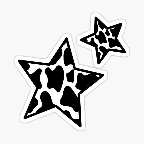 Cow Animal Print Pattern Sticker