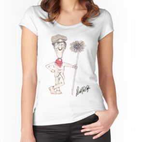 Quot Dick Van Dyke Chimney Sweep Quot Women S Fitted V Neck T