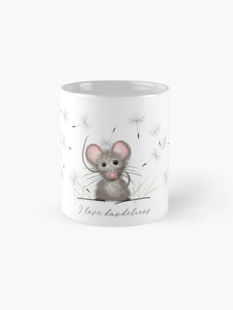 Alternate view of Let 'Em Live (dandelions, that is) Mug