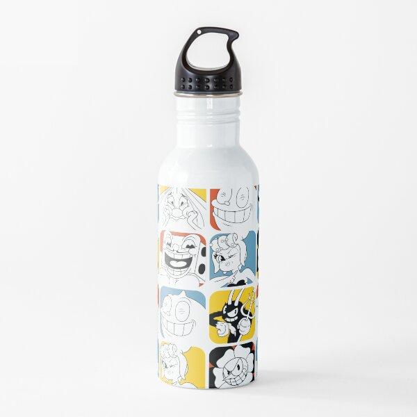 Cuphead Bosses Botella de agua
