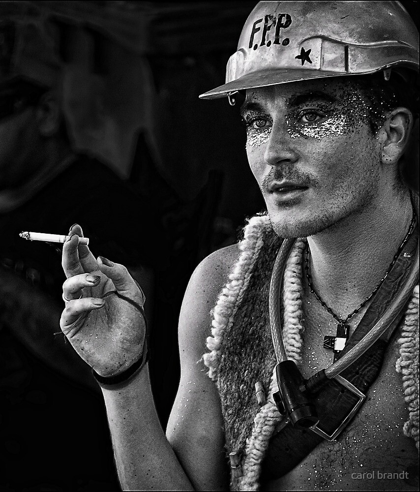 young nimbin man by carol brandt