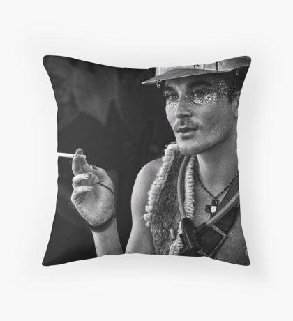 young nimbin man Throw Pillow