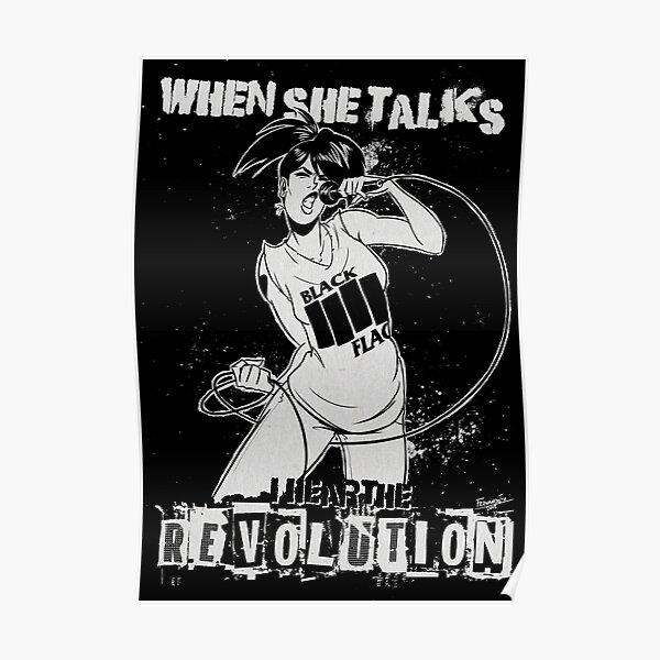 """Rebel Girl"" (Bikini Kill) Poster"