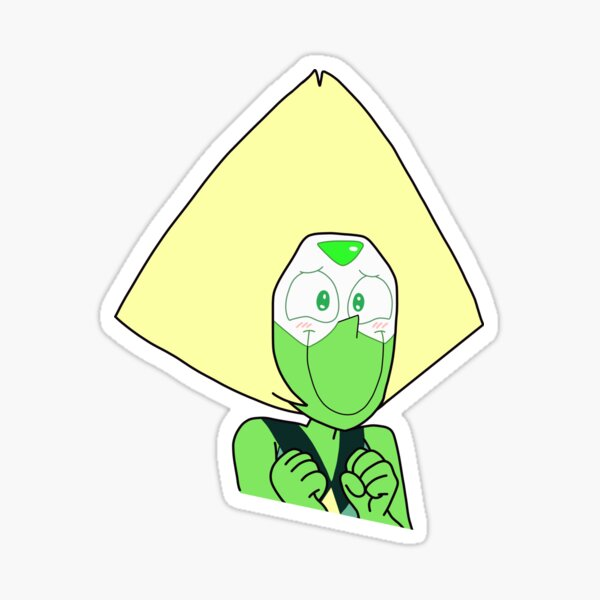 The Cutest Peridot Sticker