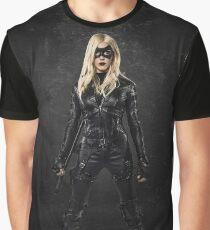 Black Canary | Laurel Lance | Arrow Season 3 Graphic T-Shirt