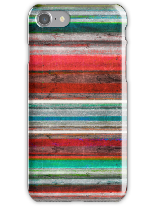 Vintage Stripes Rupydetequila iphone case by rupydetequila