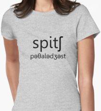 Speech Pathologist Womens Fitted T-Shirt