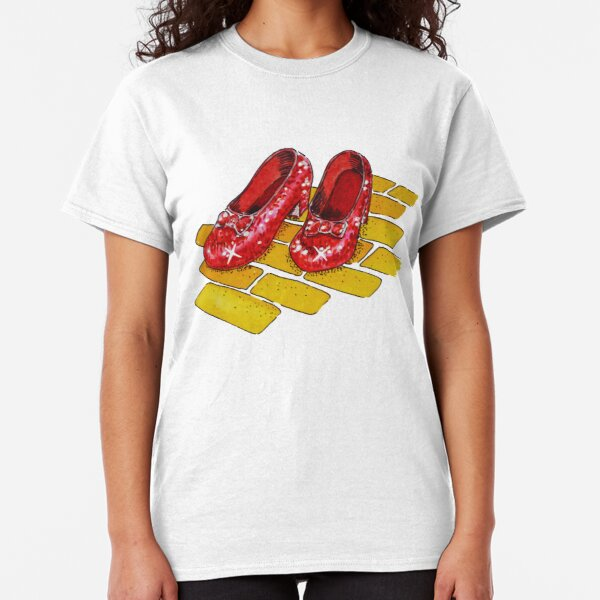 Ruby Slippers Wizard Of Oz Classic T-Shirt