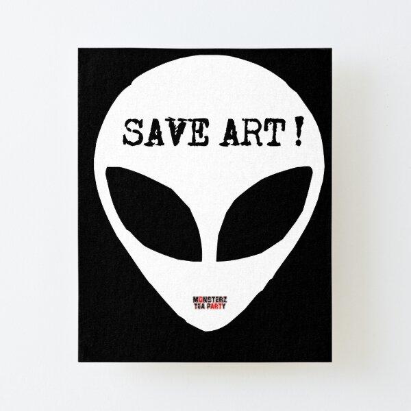 Save ART Canvas Mounted Print