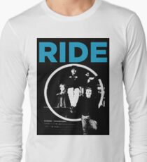 Ride - band T shirt (1992) Long Sleeve T-Shirt