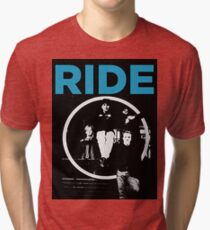 Ride - band T shirt (1992) Tri-blend T-Shirt