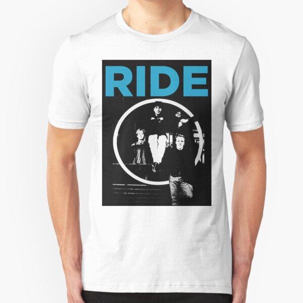 Ride - band T shirt (1992) Slim Fit T-Shirt