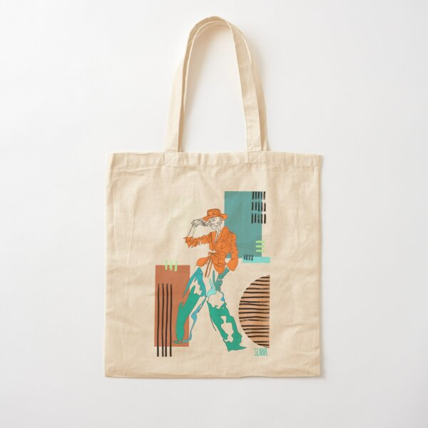 posey line woman Cotton Tote Bag