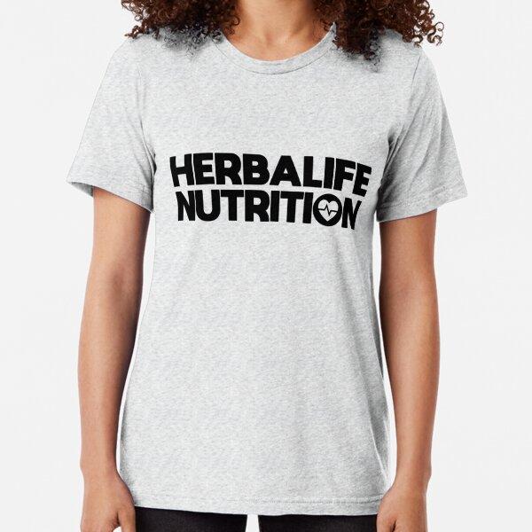 herbalife salud nutrición Camiseta de tejido mixto