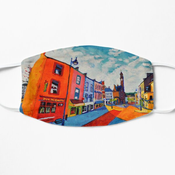Ballyshannon. Main Street. Donegal, Ireland Mask