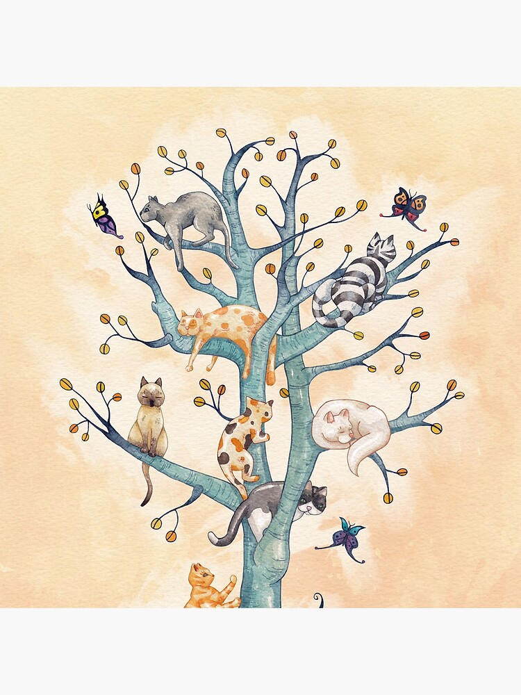 The tree of cat life by Timone