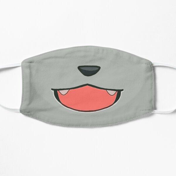Raymond's mouth Flat Mask