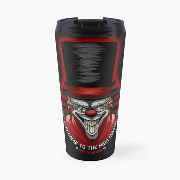 Mad Circus Theme by Mad Monsterz Travel Mug