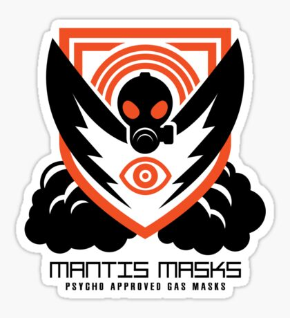 MANTIS MASKS Sticker