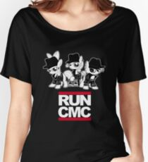 RUN CMC T-shirt (black) Women's Relaxed Fit T-Shirt