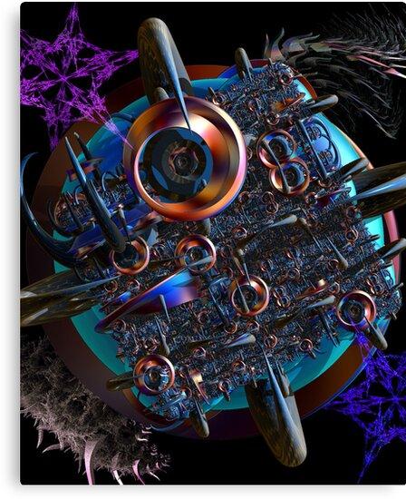 Alien Attack by designed2dazzle