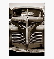 Getaway Car Photographic Print