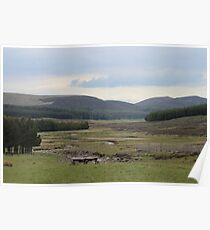 Loch Muick Valley Poster