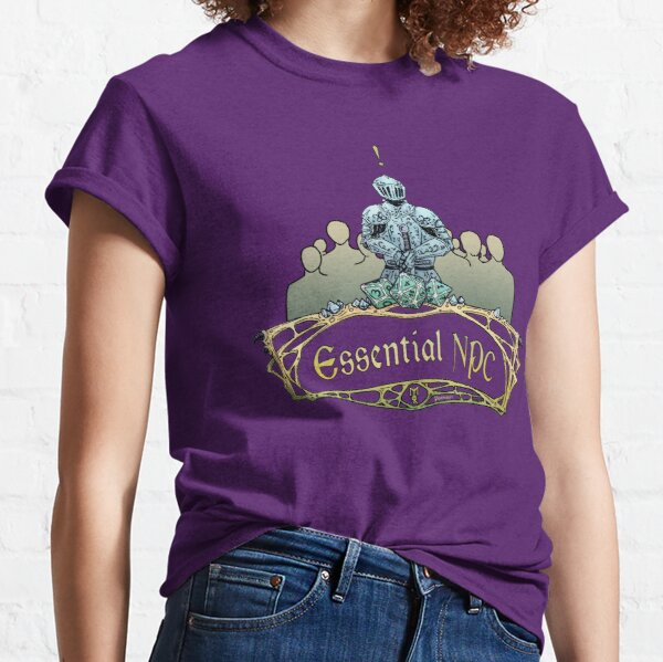Essential NPC - Have a quest for you Classic T-Shirt