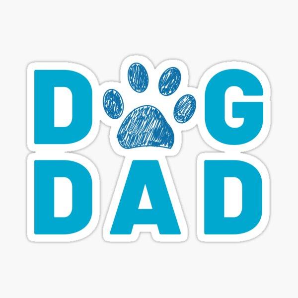 Dog Dog Paw Print Sticker