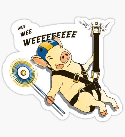 WEEEEE! Sticker