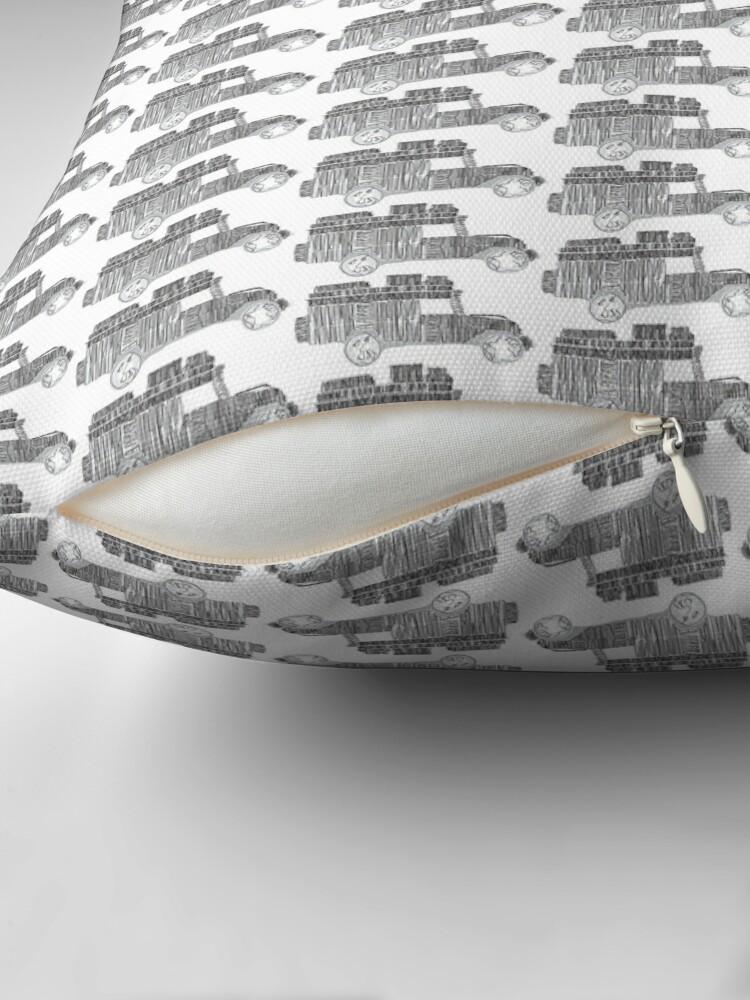 Alternate view of Artsy Sketchy Floor Pillow