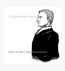 Coulson Lives  Photographic Print