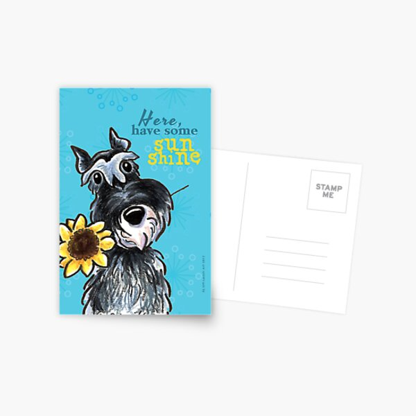 Sympathie Postkarte