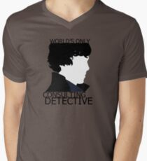 World's Only Consulting Detective (outside edition) T-Shirt