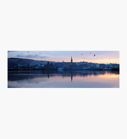 Derry on the Foyle Photographic Print