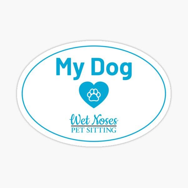 My Dog Loves Bumper Sticker Sticker