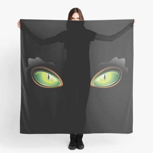Cat Green Eyes Scarf
