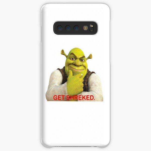 Shrek sticker - Get Shreked  Samsung Galaxy Snap Case