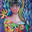 Rainbow Goddess by Karin Zeller