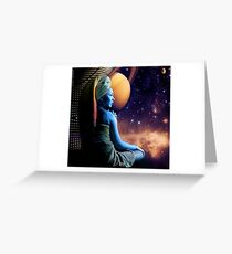 Cosmic Perspective Greeting Card