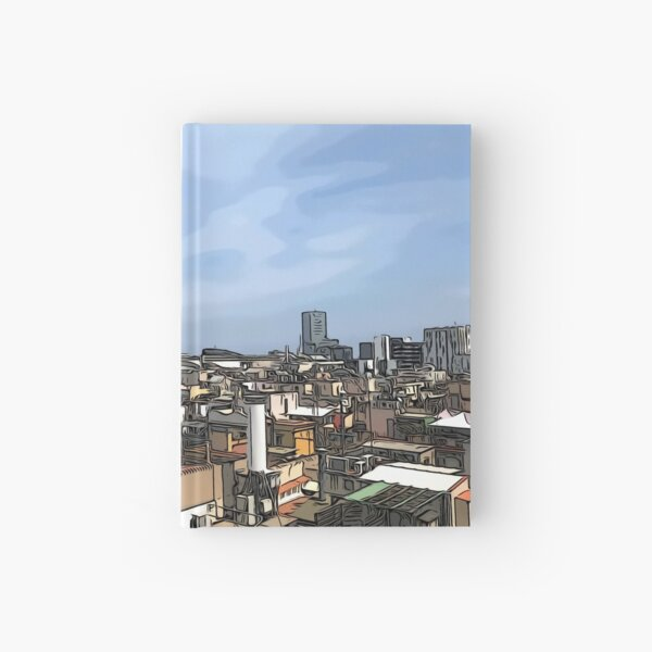 The beautiful city of Barcelona  Hardcover Journal