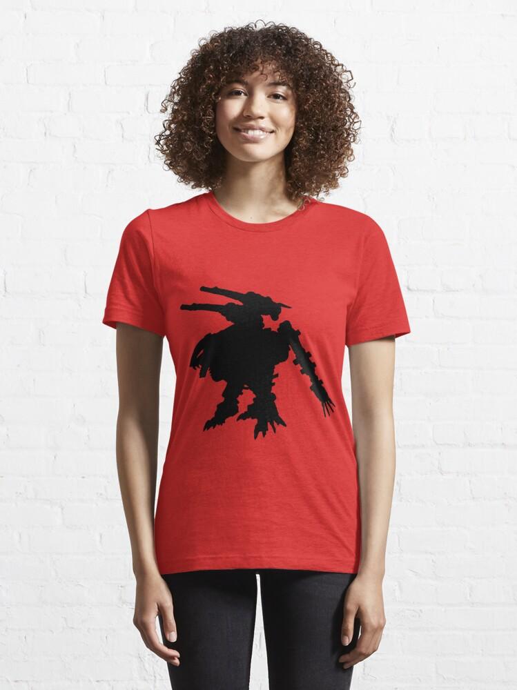 Alternate view of Lightning Saix Vector Essential T-Shirt