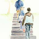 Up the Steps by Jenny Chang