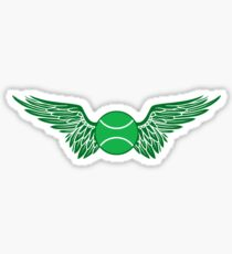 tennis winged  Sticker