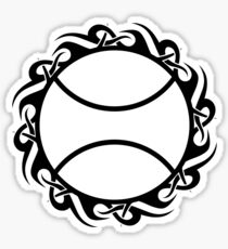 tennis : tribalz Sticker