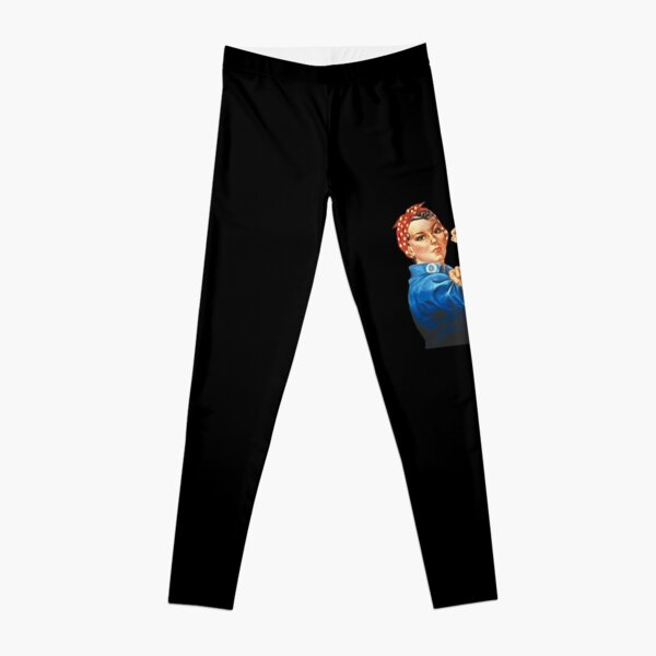 Rosie the Riveter Leggings