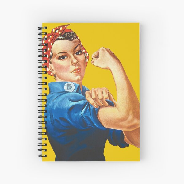 Rosie the Riveter Spiral Notebook