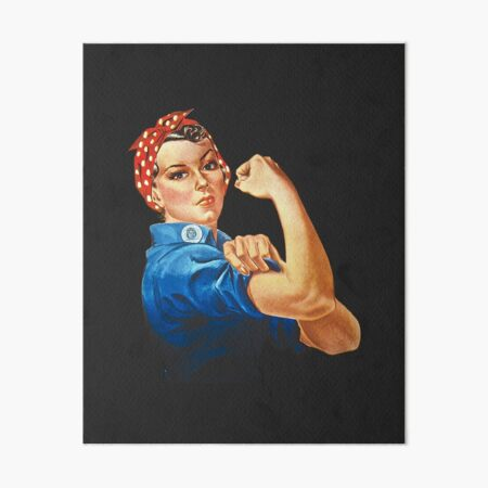 Rosie the Riveter Art Board Print
