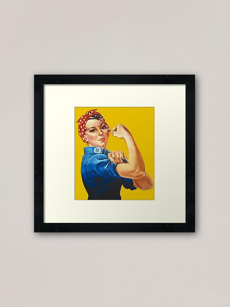Alternate view of Rosie the Riveter Framed Art Print