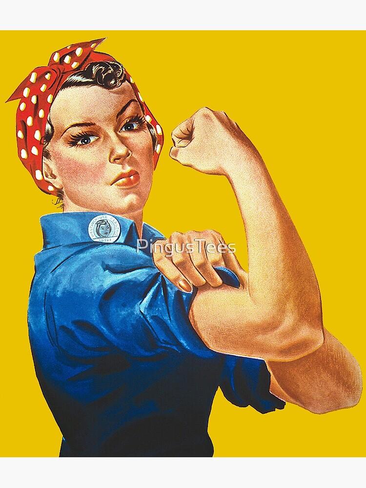 Rosie the Riveter by PingusTees